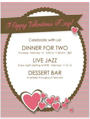Design of the Week: Happy Valentine's Day Flyer + 3 Promotion Tips ...