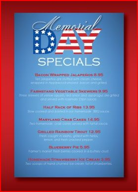 5 Last Minute Promotions For Memorial Day Musthavemenus Blog