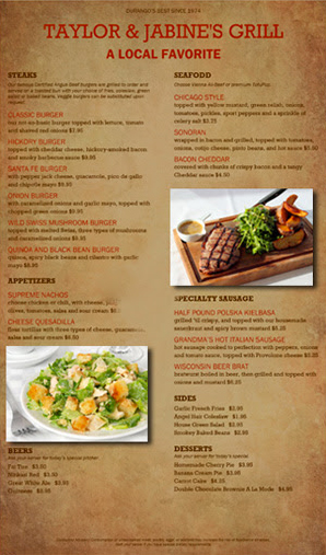MustHaveMenus Photos in templates food restaurants