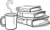 Library Coffee Clipart