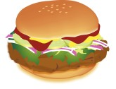 Steakburger Clipart