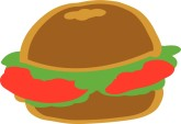 Sandwich Roll Clipart