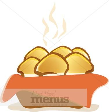 Dinner Rolls Clipart | Bread Clipart