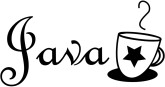 Java Wording with Star Cup