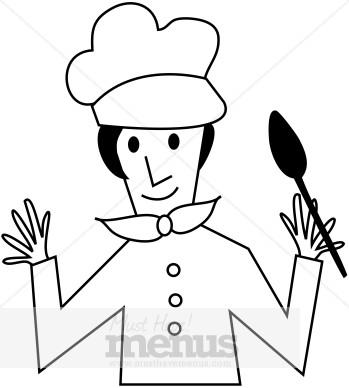 Cartoon Chef Clipart