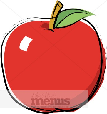 Apple Clipart Clip Art and Menu Graphics - MustHaveMenus( 18 found )