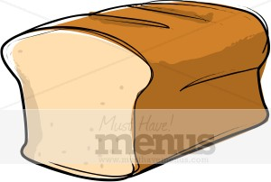 bread loaf clipart bread clipart rh musthavemenus com loaf of bread free clipart Loaf of Bread Outline