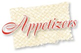 Appetizers Script on Mat