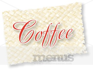 Coffee Script on Reed Mat