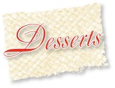 Formal Desserts Clipart