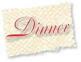 Country Dinner Script on Mat
