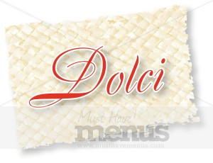 Formal Dolci Clipart