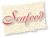 Seafood Script on Tropical Read Mat