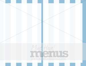 Blue Stripes Half Fold Inner