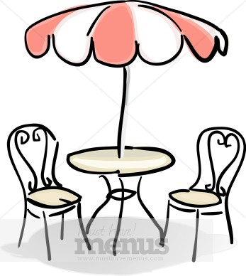 Cafe Table with Red and White Umbrella Clipart: https://www.musthavemenus.com/image/cafe-table-with-red-and-white...