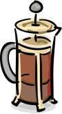 French Press Clipart