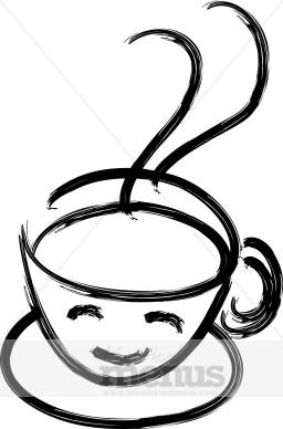 Hot Drinks American Black Coffee Sign
