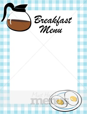 restaurant menu layouts