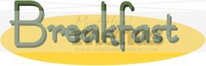 Breakfast Clip Art | Breakfast Clipart