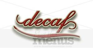 Elegant Decaf | Coffee Clipart