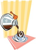 Coffee Pour Clipart