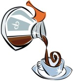 Diner Coffee Clipart