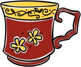 Red Coffee Cup Clipart