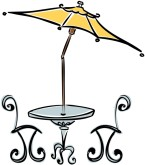 Cafe Table Clipart