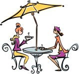 Paris Cafe Clipart