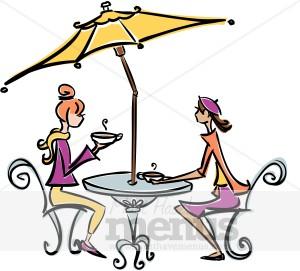Paris Cafe Clipart