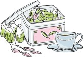 Looseleaf Tea Clipart