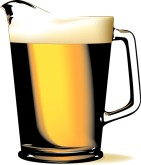 Pitcher of Beer Clipart