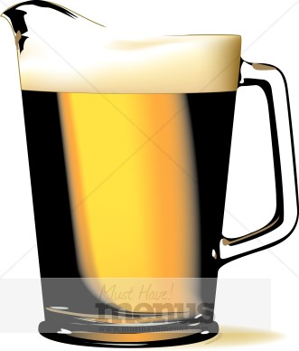 Pitcher Of Beer Clipart Beer Clipart