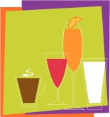 Bar Drinks Clip Art