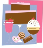 Fancy Dessert Clipart