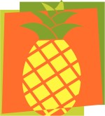Fresh Pineapple Icon