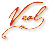 Handwritten Veal Wordart