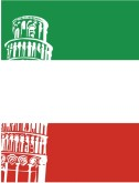 Italian Flag Leaning Tower