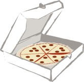 Pizza Box Clip Art