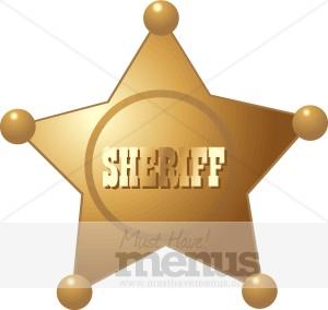 Sheriff Badge Clip Art and Menu Graphics - MustHaveMenus( 5 found )