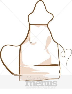 Kitchen Apron Clipart