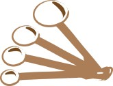 Measuring Spoons Clipart