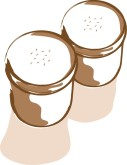 Salt Shakers Clipart