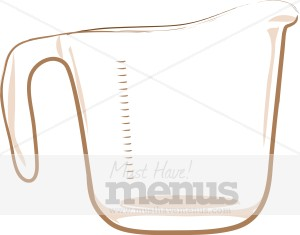 Measuring Cup Clip Art | Cooking Images