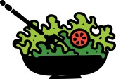 Tossed Salad Clipart