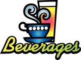 Beverages 70's Style Typography