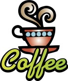 Coffee Label Clipart