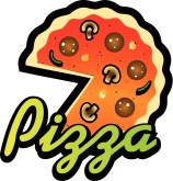 Pizza Sign Clipart