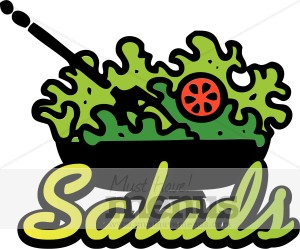 Salads Menu Icon Salad Clipart