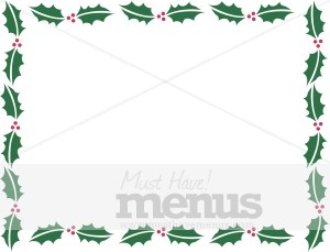 Designer Holly Border